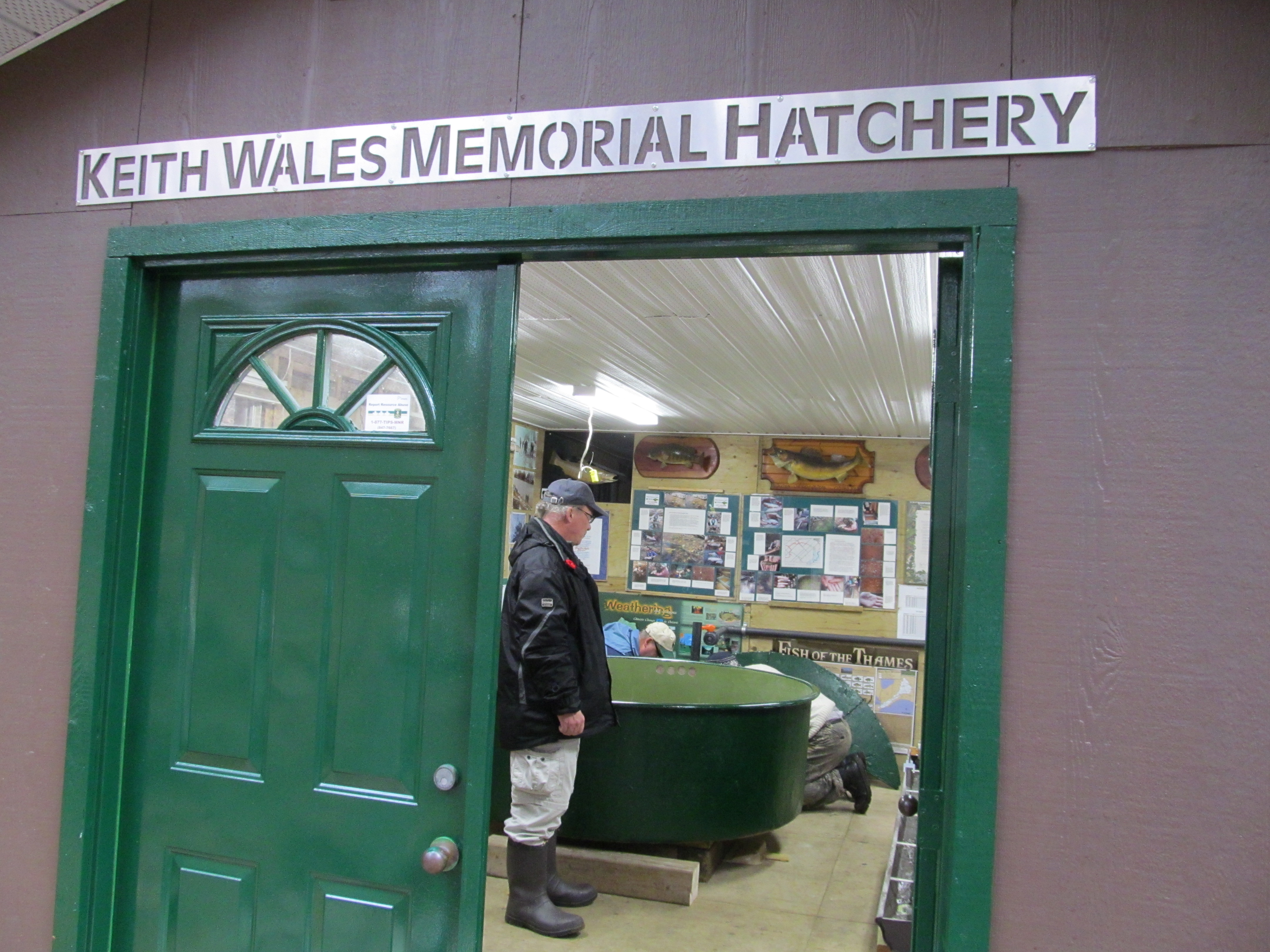 Hatchery Entrance